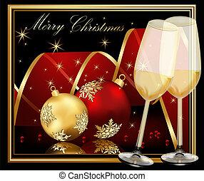 Weihnachtsgeschichten aus Gold und Rot