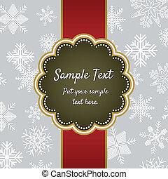 Weihnachtsgrußkarten-Schriftabstimmung
