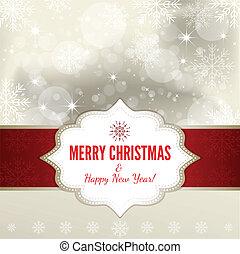 Weihnachtshintergrund - Illustration