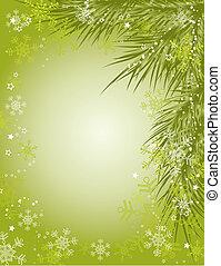 Weihnachtshintergrund, Vektor.