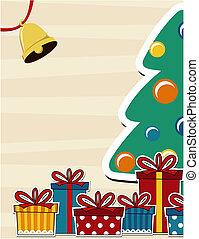 Weihnachtskarten-Hintergrund