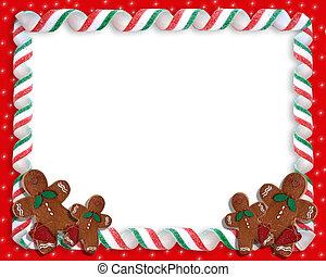 Weihnachtskekse Grenze