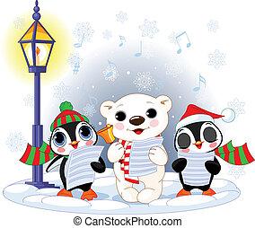 Weihnachtslieder: 2013 Eisbär