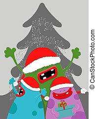 Weihnachtsmonster