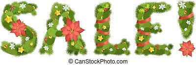 Weihnachtsnummern, Vektorgrafik, Eps 10.