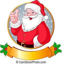 Weihnachtssanta