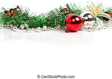 Weihnachtsschmuck Hintergrund.