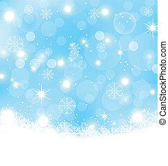 Weihnachtsstrauß mit Schneeflocken, Sternen
