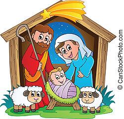 Weihnachtsszene 2
