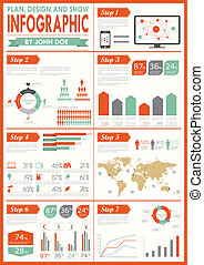 weinlese, set., infographics