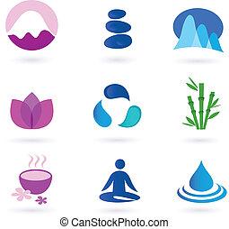 Wellness, Entspannung und Yoga-Ikone