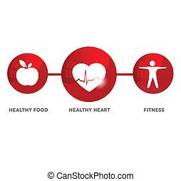 Wellness und medizinisches Symbol