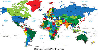 welt, map-countries