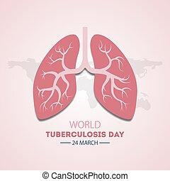 Welt Tuberkulose-Tag.