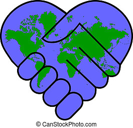 Weltfrieden.