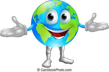 Weltkugel-Figur