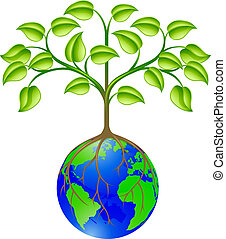 Weltkugelbaum