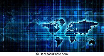 weltweit, geschaeftswelt