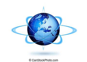 Weltweites Reisekonzept