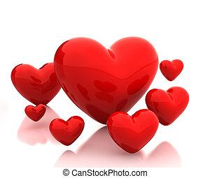 Wenige Herzen