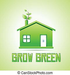Werde grün.