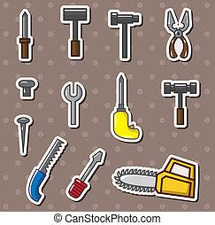 Werkzeugaufkleber