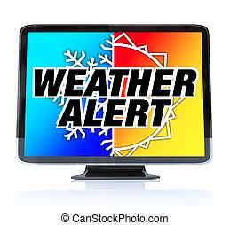 Wetterwarnung - High-definition TV HDTV