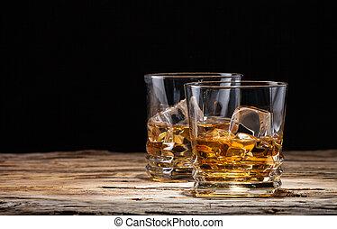 Whiskey Drinks.