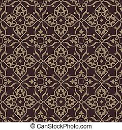 Wiederhole Vektor-Hintergrundmuster. Das Muster ist als nahtloses Muster enthalten. Sehr leicht zu schneiden.