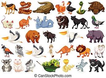 Wilde Tiere.