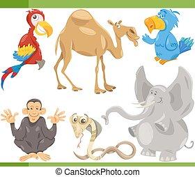 Wilde Tiere, Zeichentrickfilme.