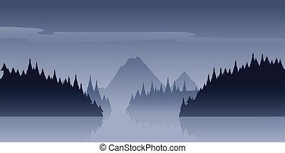 Wilderness Nebel.