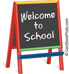 Willkommen bei den Schulkindern.
