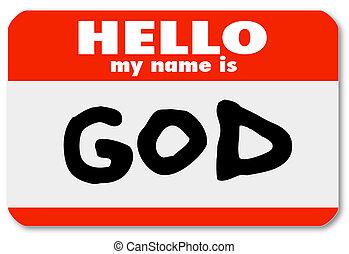 Willkommen im religiösen Glauben
