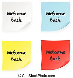 Willkommen zurück