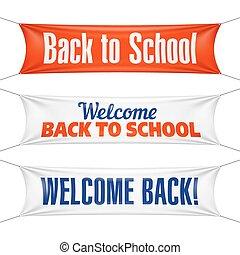 Willkommen zurück zu Schulbannern.