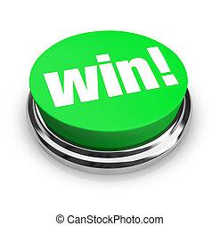 Win - grüner Knopf