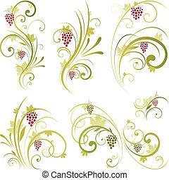 Wine Scrollform