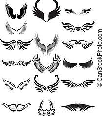 Wings Silhouette-Sammlung
