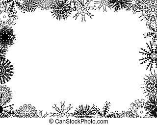 Winter Hintergrund.