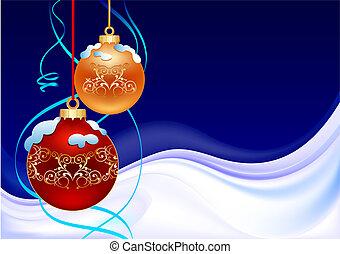Winter-Weihnachtsball
