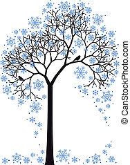 Winterbaum, Vektor