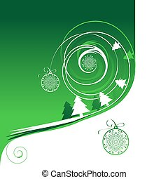 Winterferien, Weihnachtskarte