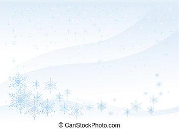 Winterhintergrund (vektor)