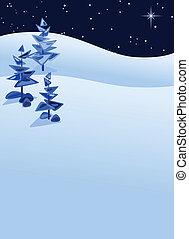 Winterlandschaft abbrechen