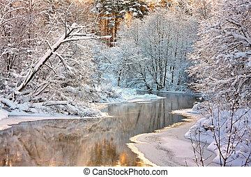 Winterlandschaft.