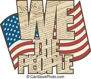 Wir sind das Volk.