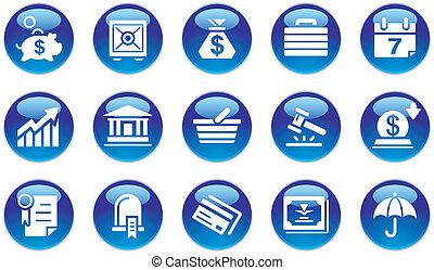 Wirtschafts- und Bankkonstruktionen sind festgelegt