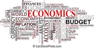 Wirtschaftsschilder bewölkt
