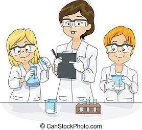 wissenschaft experiment
